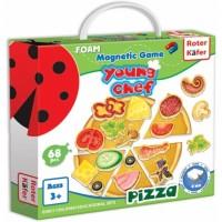 Joc educativ magnetic Roter Kafer, 3 ani+, Pizza