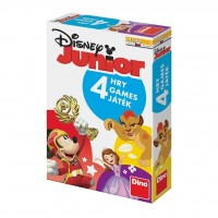 Joc interactiv 4 in 1 Disney Junior, 2-6 jucatori