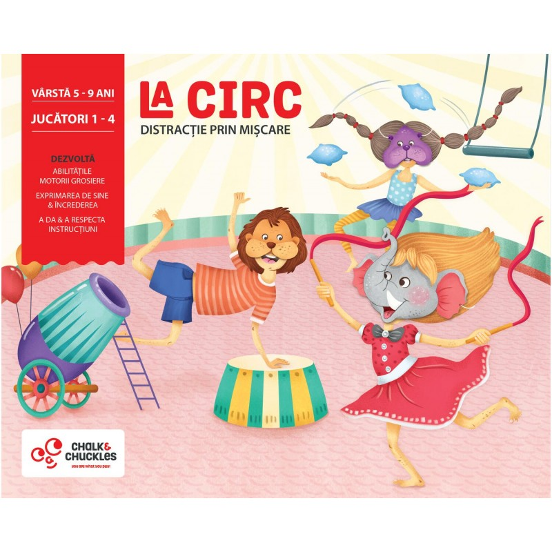 Joc interactiv La circ Chalk and Chuckles, 5 ani+ 2021 shopu.ro