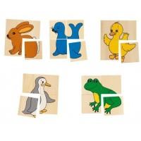 Joc Karemo 5 animale, 20 piese