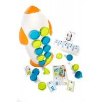Joc Matematic Rocket 10 Miniland, 101 piese, 3 ani+