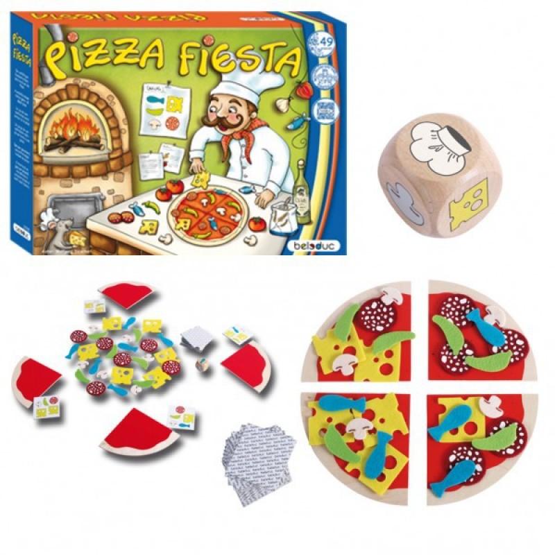 Joc Pizza Fiesta Beleduc, 3 ani+ 2021 shopu.ro