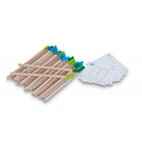 Joc Puzzle Chibriturile Buitenspeel, 24 piese din lemn