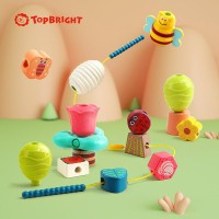 Jucarie de indemanare Festivalul primaverii Topbright, 18 luni+, 16 piese, Multicolor