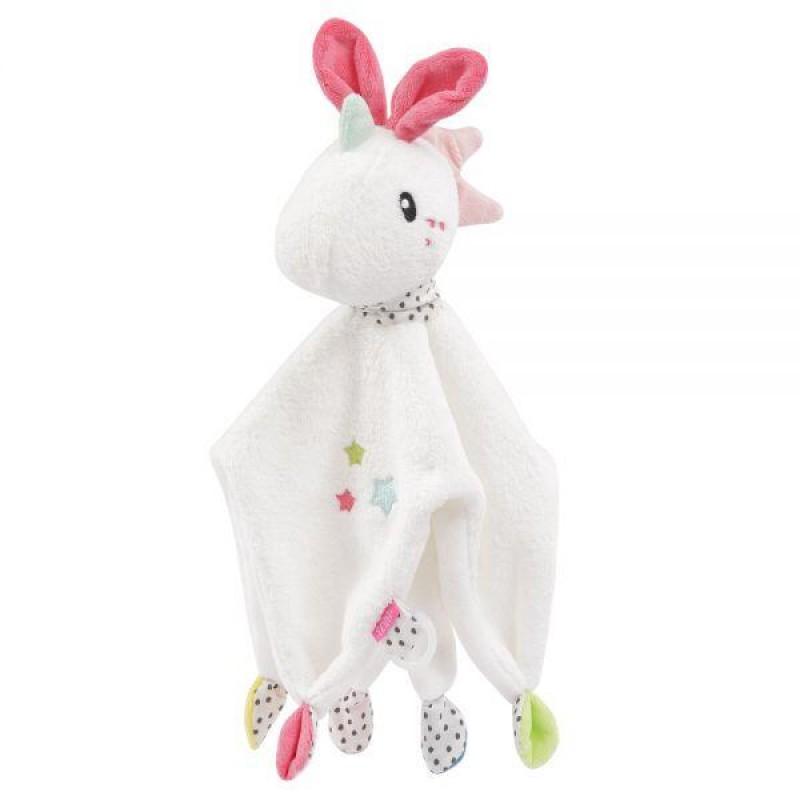 Jucarie doudou plus Fehn, model unicorn, 33 cm, 0 luni+ 2021 shopu.ro