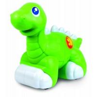 Jucarie interactiva Dinozaur prietenos, Verde, 18 luni+