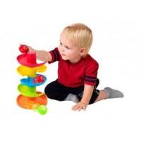 Jucarie interactiva Turnulet cu bilute Little Learner, 12 luni+