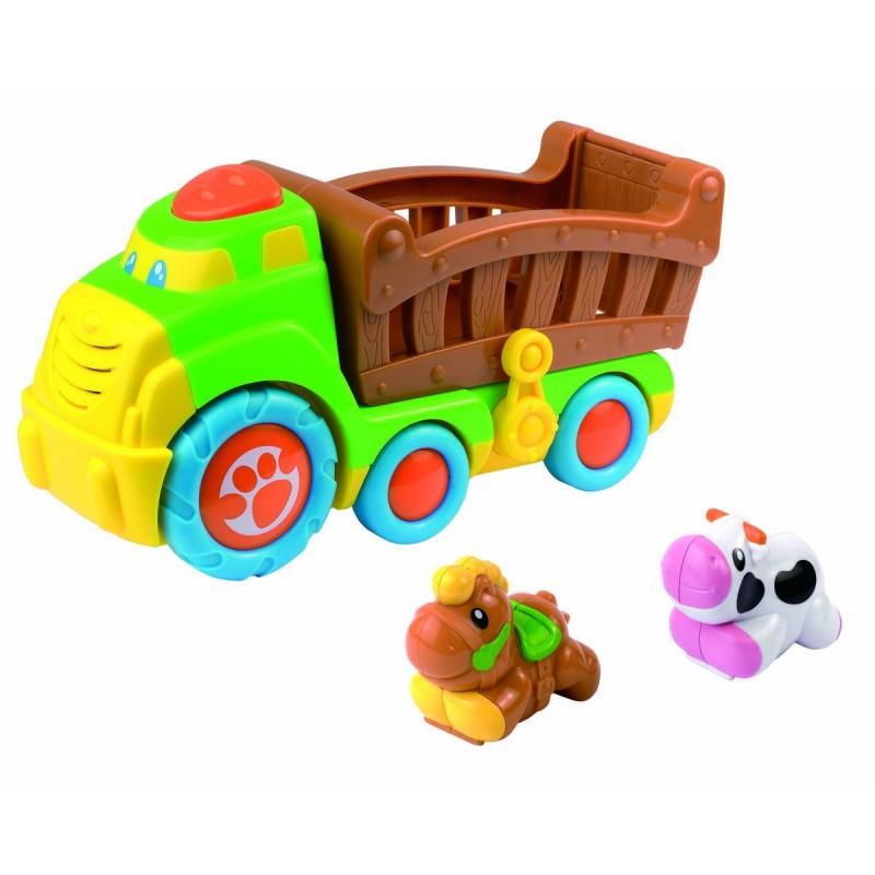 Jucarie interactiva Camionul de la ferma Little learner, 18 luni+ 2021 shopu.ro