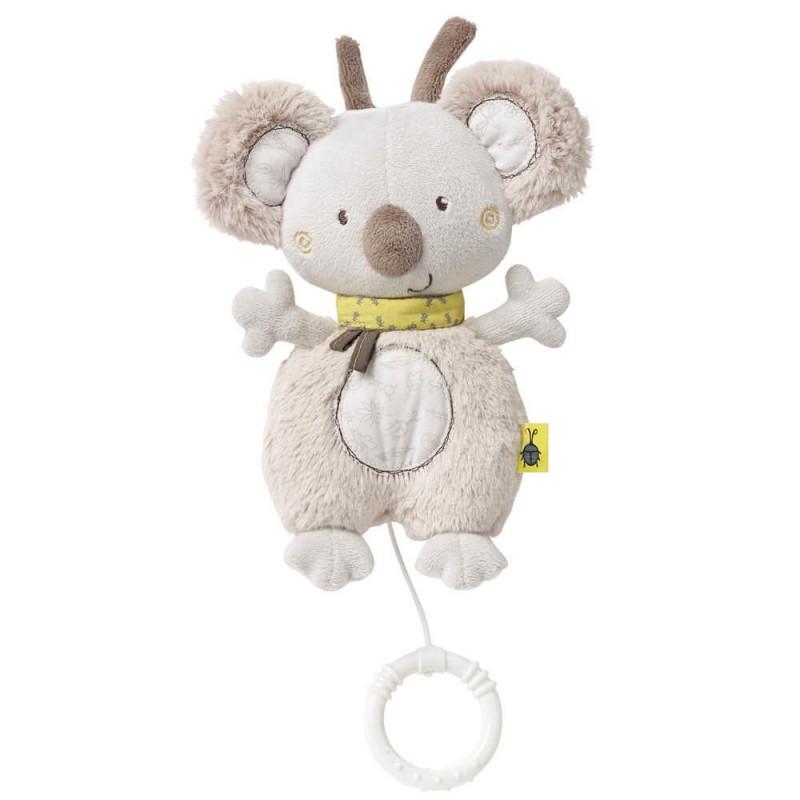Jucarie muzicala Fehn Koala, textura deosebit de moale 2021 shopu.ro