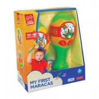 Jucarie muzicala Maracas Little learner, 12 luni+