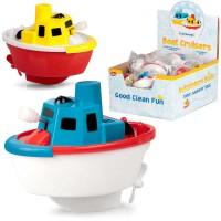 Jucarie pentru baie Vaporas Tobar, 6.5 cm, plastic, 3 ani+, Multicolor