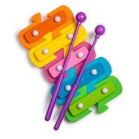 Jucarie pentru baie Xilofon Tobar, 4 x 18.5 x 29 cm, plastic, 2 ani+, Multicolor
