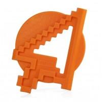 Jucarie pentru dintisori Cursor Miniland, 10 cm, Portocaliu