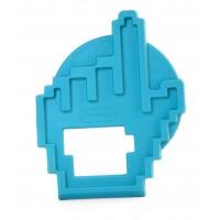 Jucarie pentru dintisori Manuta Miniland, 10 cm, Albastru