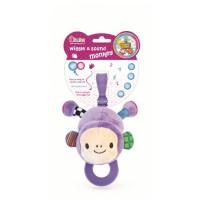 Jucarie pentru dentitie Prietena Maimutica Canta si Vibreaza BamBam, 25 cm