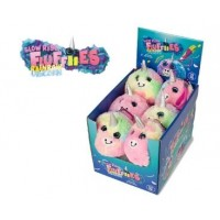 Jucarie Squishy pufoasa din plus Keyraft, model Unicorn, 3 ani+