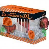 Jucarie T-Rex XXL Moses, 15-50 cm, 3 ani+, Rosu