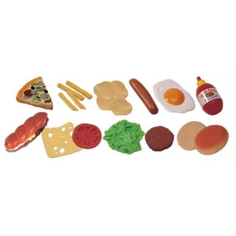 Jucarii Fast-Food Miniland, 19 bucati 2021 shopu.ro
