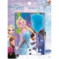 Jurnal Disney Frozen cu lacatel si pix SunCity, 3 ani+