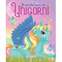 Jurnalul meu cu Unicorni Girasol, 94 pagini, 6 ani+
