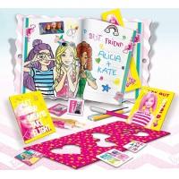 Jurnalul meu secret Barbie Lisciani, carioci incluse, 4 ani+