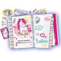 Jurnalul meu secret cu unicorn Lisciani, markere incluse, 5 ani+, Multicolor