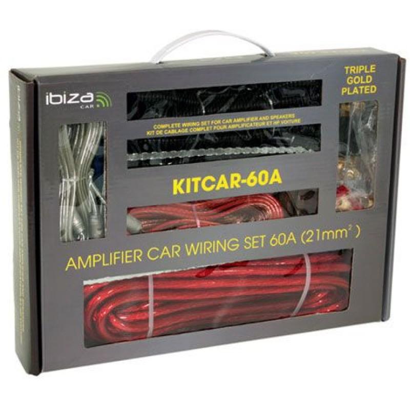 Kit cabluri auto Ibiza KITCAR60A, 60A, 21 mm 2021 shopu.ro