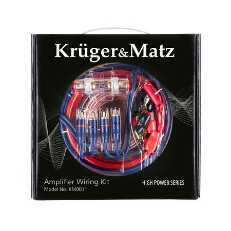 Kit cabluri Kruger Matz KM0011 pentru montaj auto 2021 shopu.ro