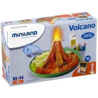 Set de joaca experimente Vulcan Miniland, 23 x 10 cm, 10 ani+