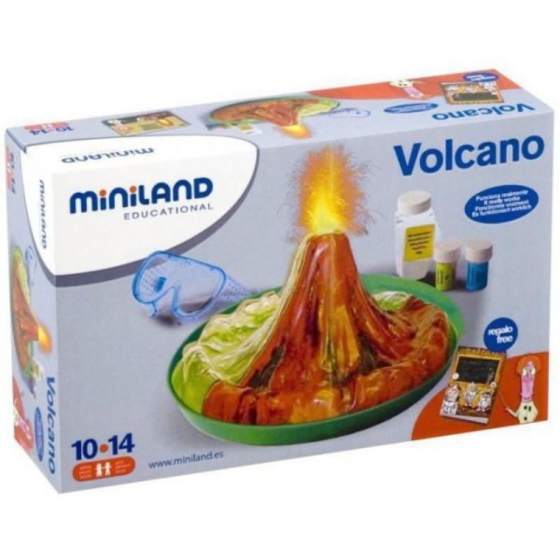 Set de joaca experimente Vulcan Miniland, 23 x 10 cm, 10 ani+ 2021 shopu.ro