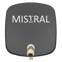 Kit instalare antena auto Satelit Mistal,45 cm, 190 mA, 65 dB, protectie IP65