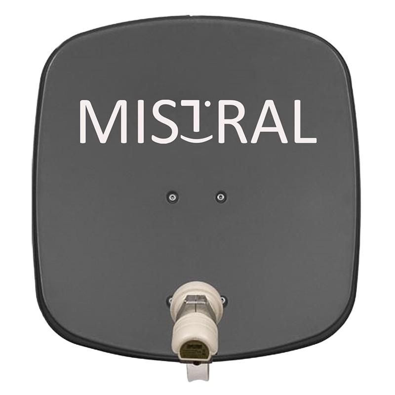 Kit instalare antena auto Satelit Mistal,45 cm, 190 mA, 65 dB, protectie IP65 2021 shopu.ro