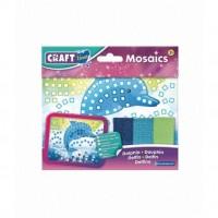 Kit Mozaic Mini Delfin Brainstorm Toys, 18 x 14 cm, 5 ani+, Multicolor