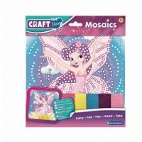 Kit Mozaic Zana Brainstorm Toys, 25 x 25 cm, 5 ani+, Multicolor