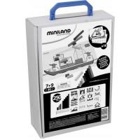 Kit pentru jocuri aritmetice Miniland, 16 carduri ilustrate