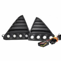 Kit proiectoare LED auto NSSC Ford Focus, 8 led-uri SMD