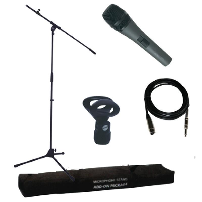 Stand dinamic microfon, microfon inclus 2021 shopu.ro