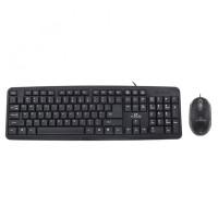Kit Salem Esperanza, tastatura cu fir, 104 taste si mouse cu fir, 1000 DPI, 2 butoane
