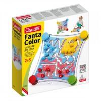 Labirint Fantacolor Quercetti, 48 piese, 3 ani+