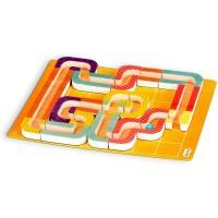 Puzzle 3D labirint magnetic Maze Kraze Fiesta Crafts, 33 piese, 26 x 34 cm, 6 ani+