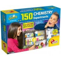 Set de joaca 150 experimente Lisciani, 8 ani+, Laboratorul de chimie
