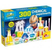Set de joaca 300 experimente Lisciani, 8 ani+, Laboratorul de chimie