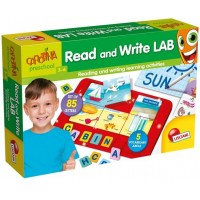 Joc interactiv Laboratorul primelor cuvinte Lisciani, limba engleza, 3-6 ani