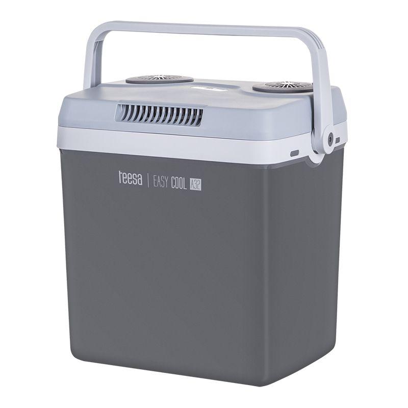 Lada frigorifica Teesa, 32 l, racire intre 18-22 grade, alimentare auto si priza