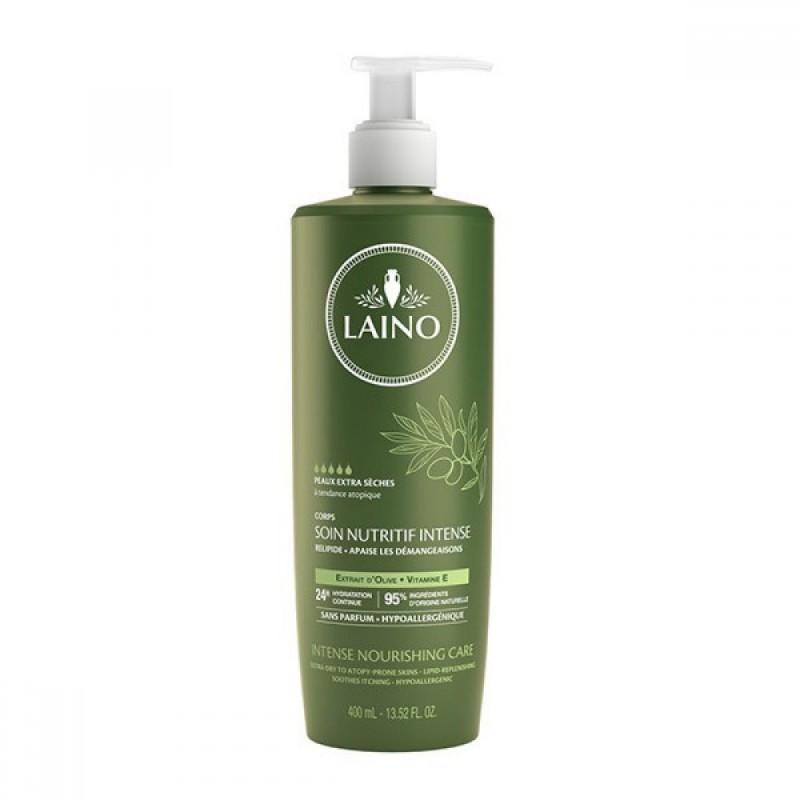 Crema de corp cu ulei de masline Laino, 400 ml, vitamina E 2021 shopu.ro