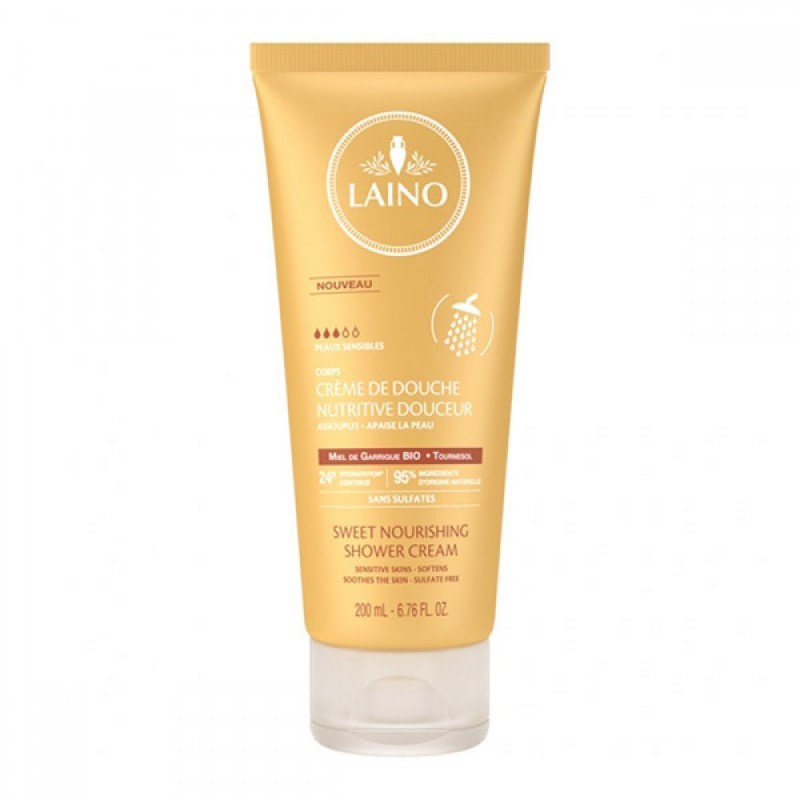 Crema de dus cu miere Laino, 200 ml 2021 shopu.ro