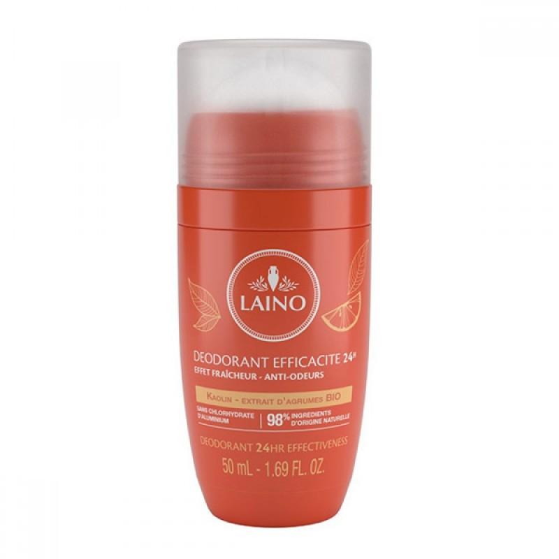 Deodorant roll-on Laino, 50 ml, 24 h, extract citrice 2021 shopu.ro