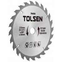 Lama ferastrau TCT Tolsen, 185 x 30 x 24T