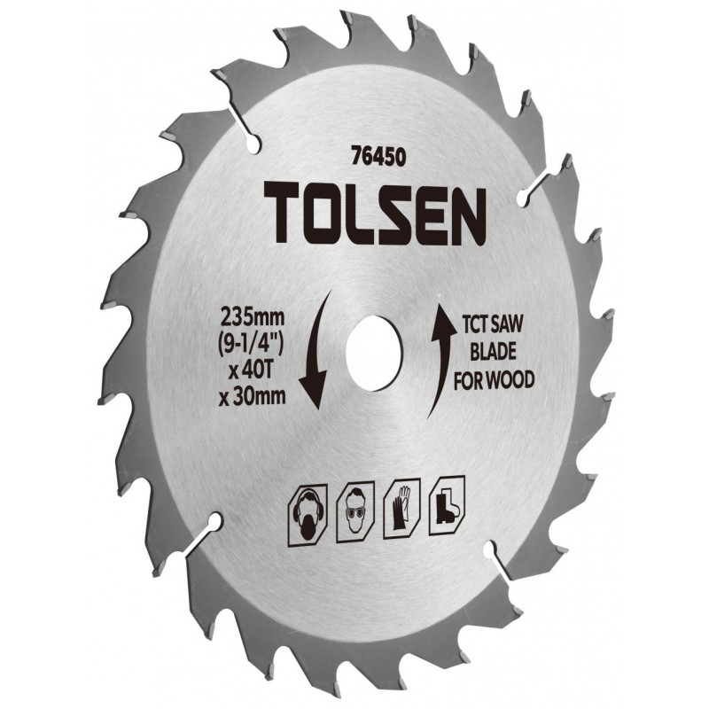 Lama ferastrau TCT Tolsen, 185 x 30 x 40T 2021 shopu.ro