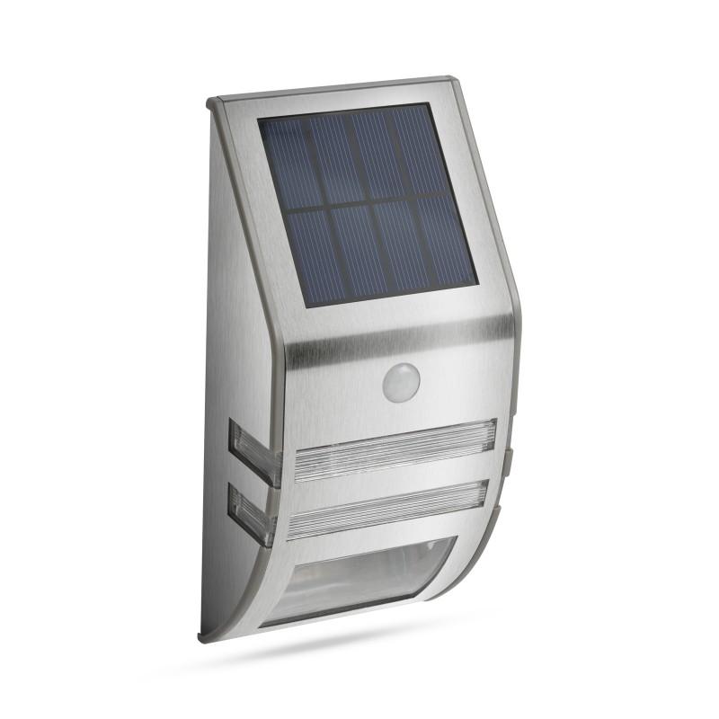 Garden of Eden lampa solara, LED, 170 x 78 mm, senzor de miscare, IP65, 800 mAh, 250 lumeni, Argintiu shopu.ro